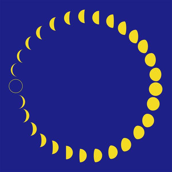 本日9:52,お月さまが新月になりました!